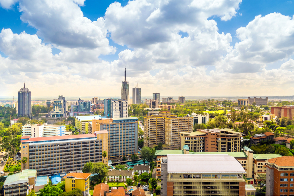Nairobi, capital of Kenya